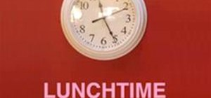 Hack Your Office Clock For Extra Lunch Time