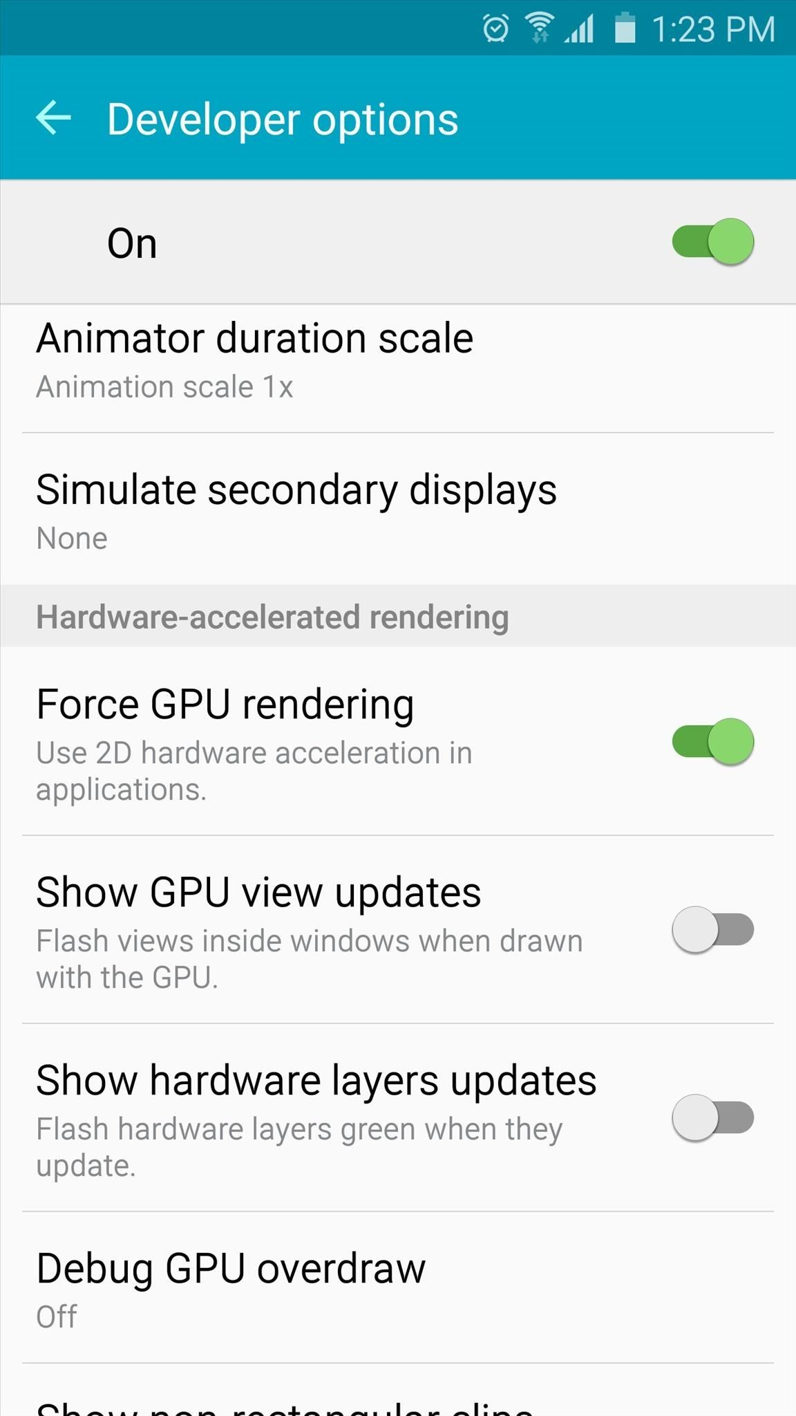 15 Reasons to Unlock Developer Options on Your Android « Android