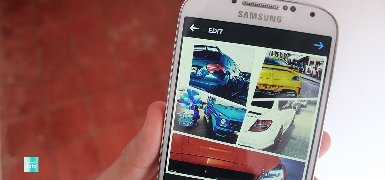 how to add multiple photos on instagram android