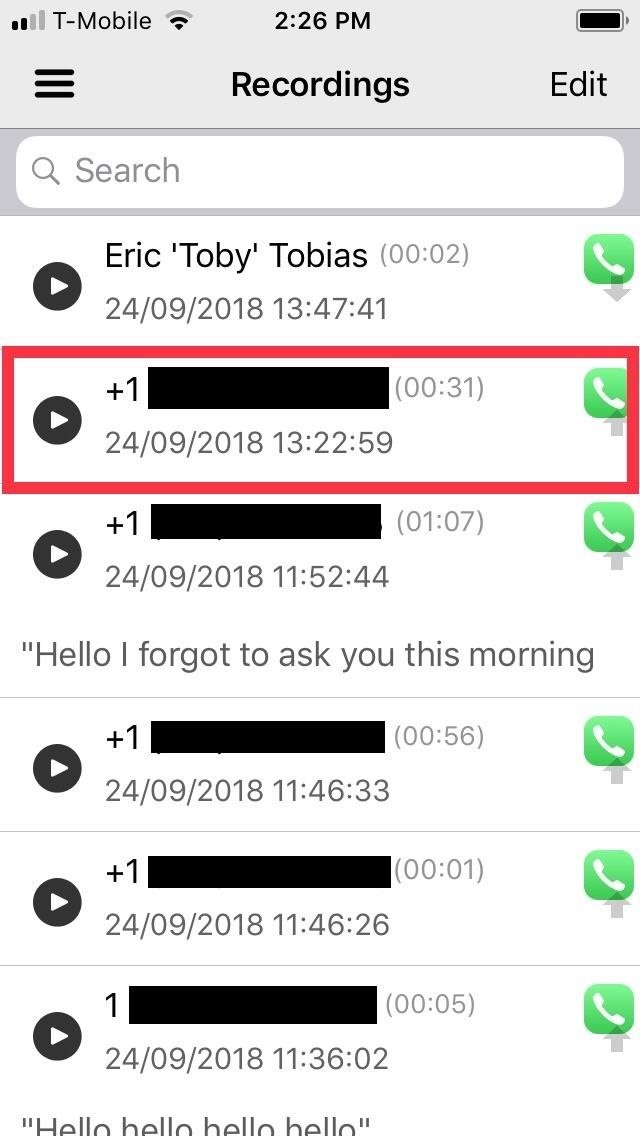 Record All Phone Calls Automatically Iphone