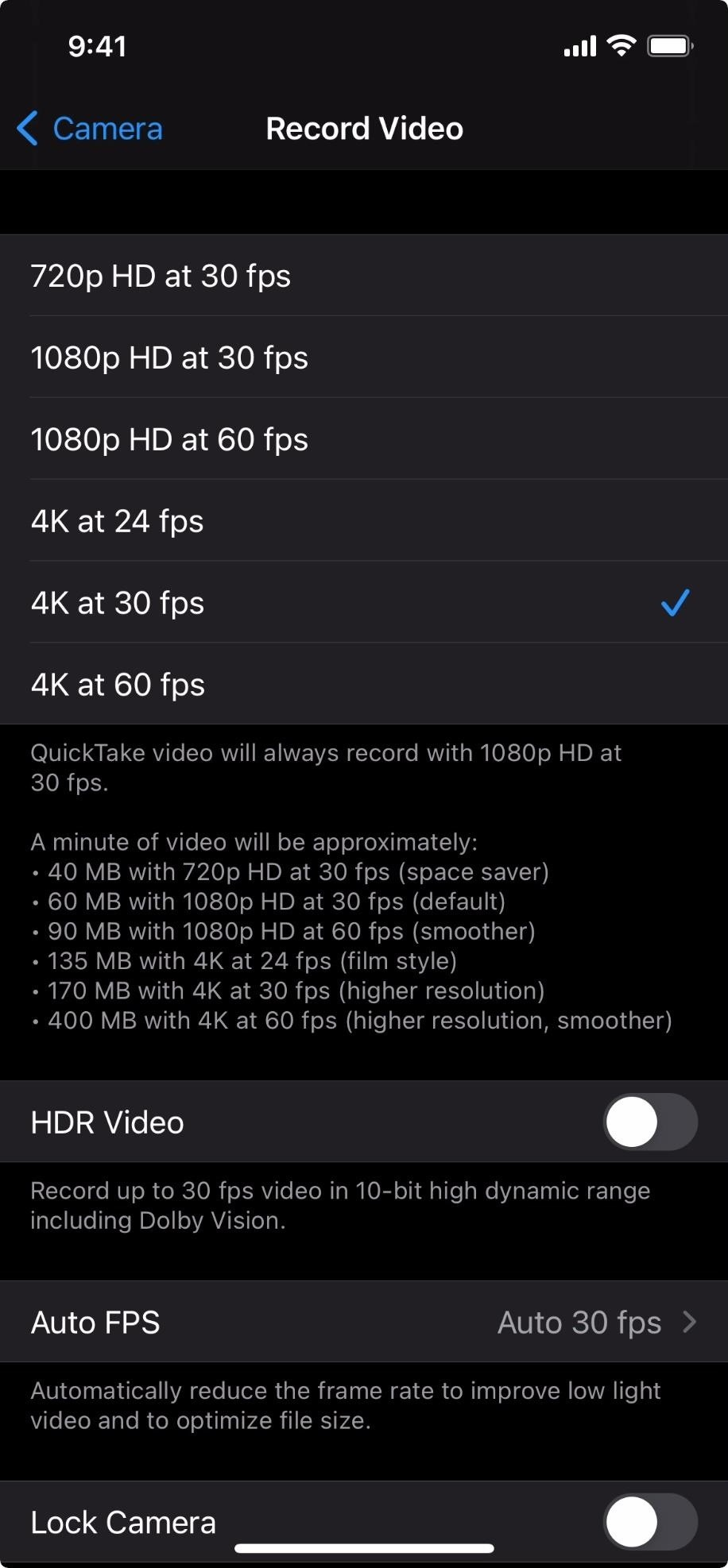 How to Turn Off HDR Video Recording on Your iPhone 12 or 12 Pro to Reduce File Sizes & Increase Compatibility