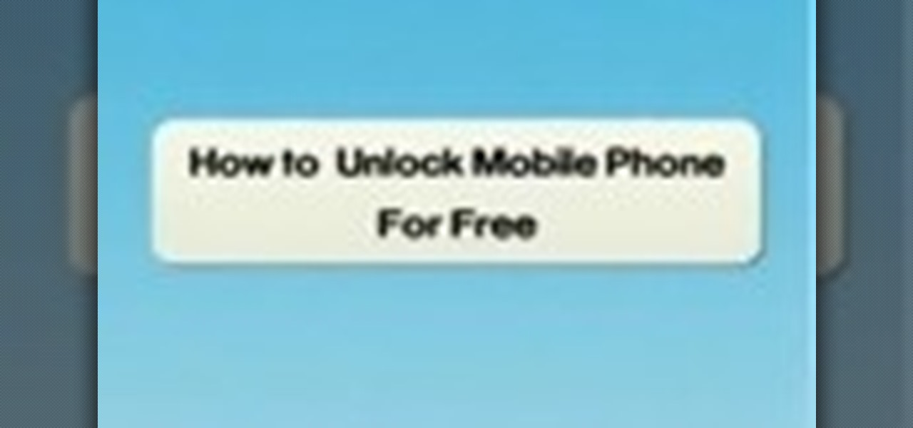 How to Unlock your mobile phone and make it sim free « Smartphones