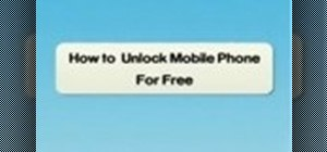 Unlock your mobile phone and make it sim free