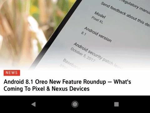 Pixel 2 XL Update Adds 'Saturated' Color Profile & Anti-Burn-in Tweaks