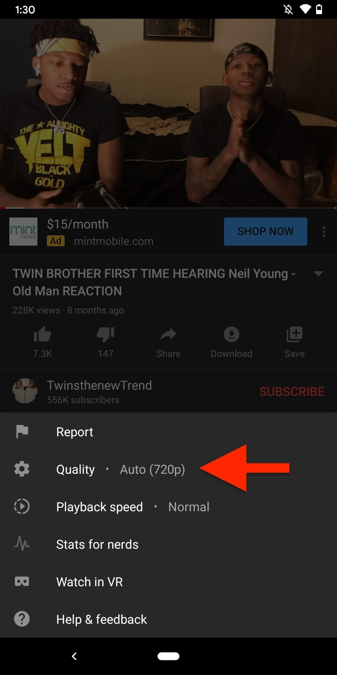 How to Make Sure Videos Are Playing at the Highest Resolution Possible on YouTube, YouTube Music & YouTube TV