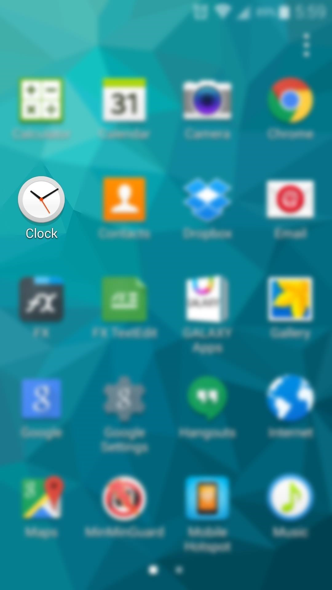 How to Make Android's Clock App Open Directly to the Alarm Tab
