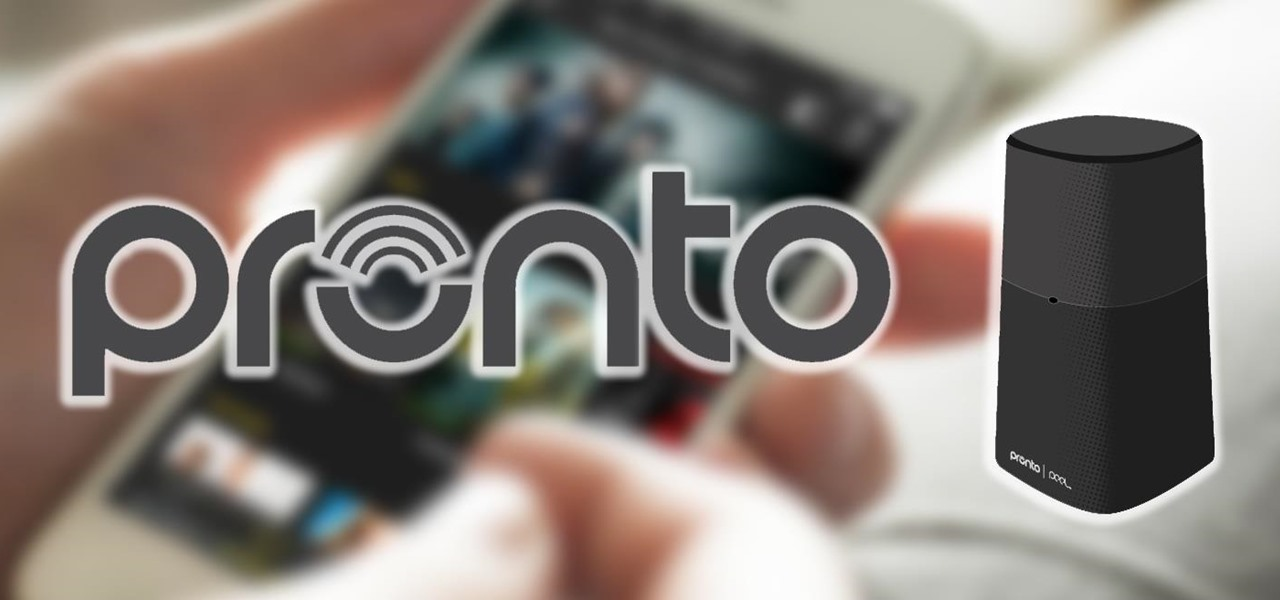 Pronto Turns Your iPhone into an All-in-One TV Remote