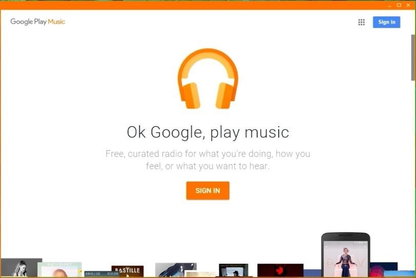 Finally... A Standalone Google Play Music Client for Windows!