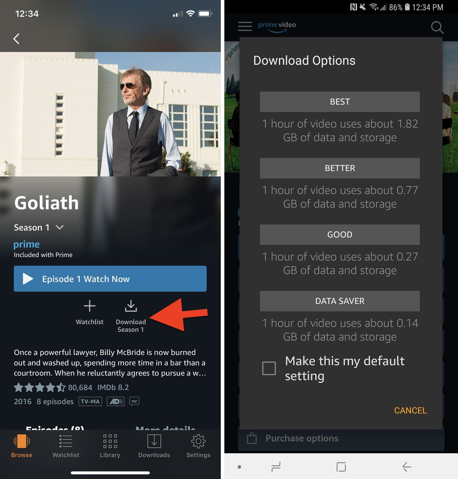 How to Download Movies & TV Shows on Amazon Prime Video for Offline Playback