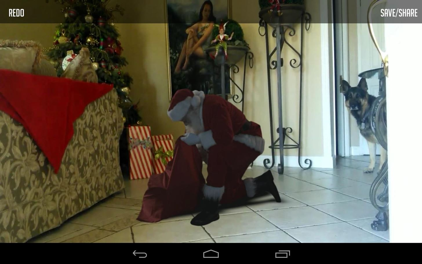 Give Your Kids Video Proof That Santa Really Exists with This Awesome App