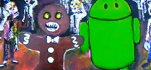 Find the Gingerbread Man & Droid Robot in Your Android Smartphone