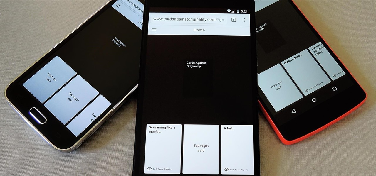 Play Cards Against Humanity with Anyone on Any Computer, Phone, or Tablet