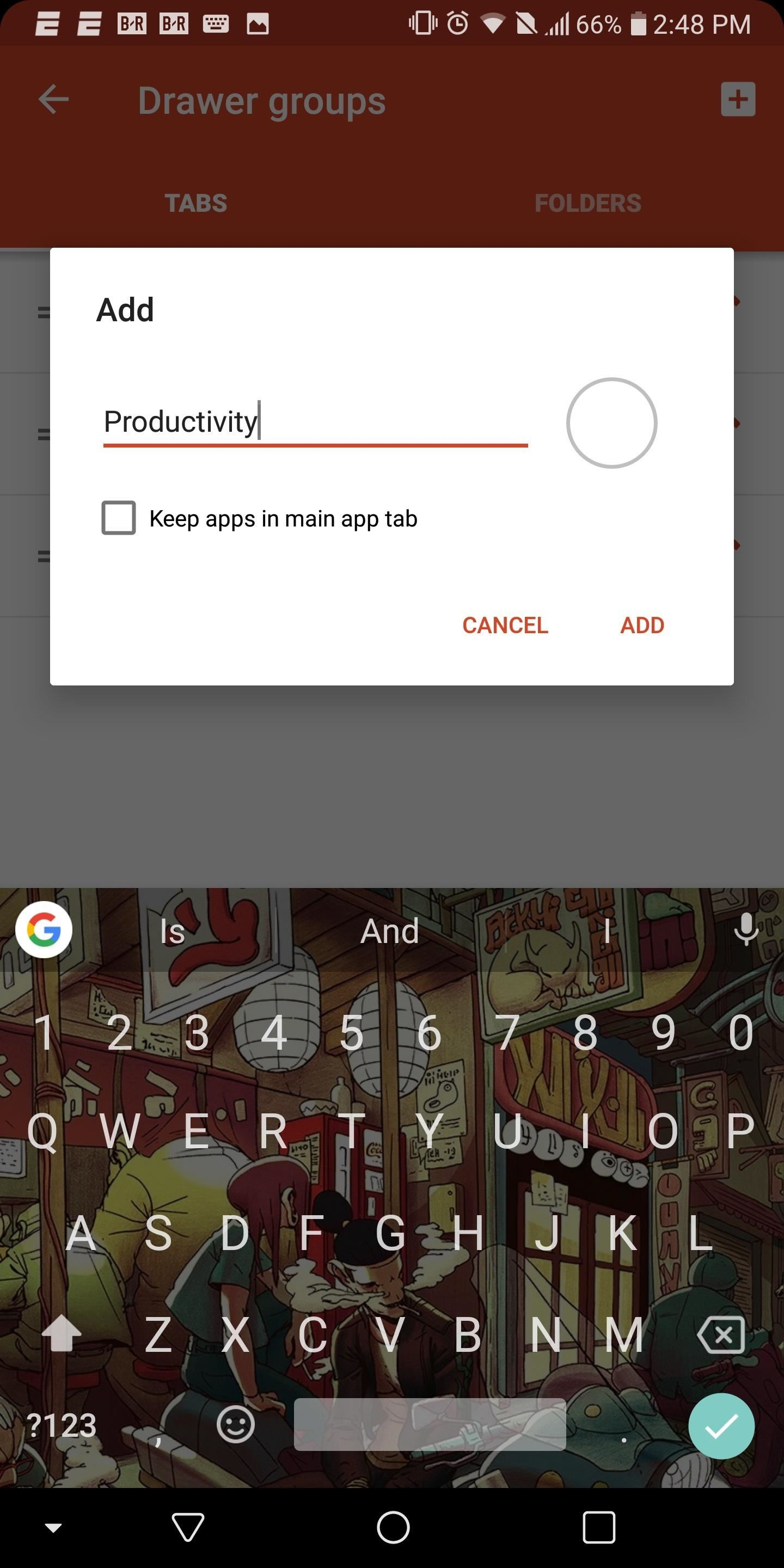 Nova Launcher 101: How to Organize Your App Drawer with Tab