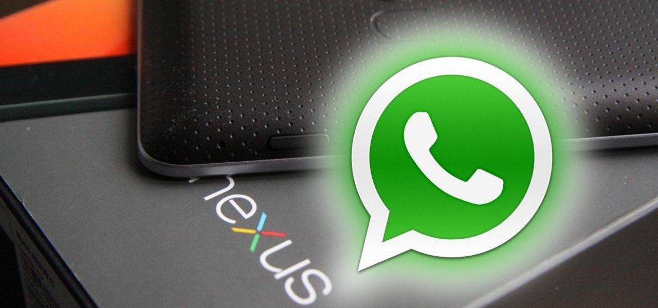 Install the WhatsApp Messenger onto Your Nexus 7 and Sync It with Your Phone Number