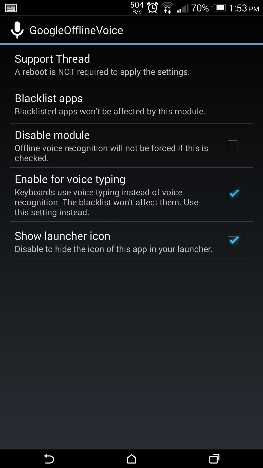 google voice typing android apk
