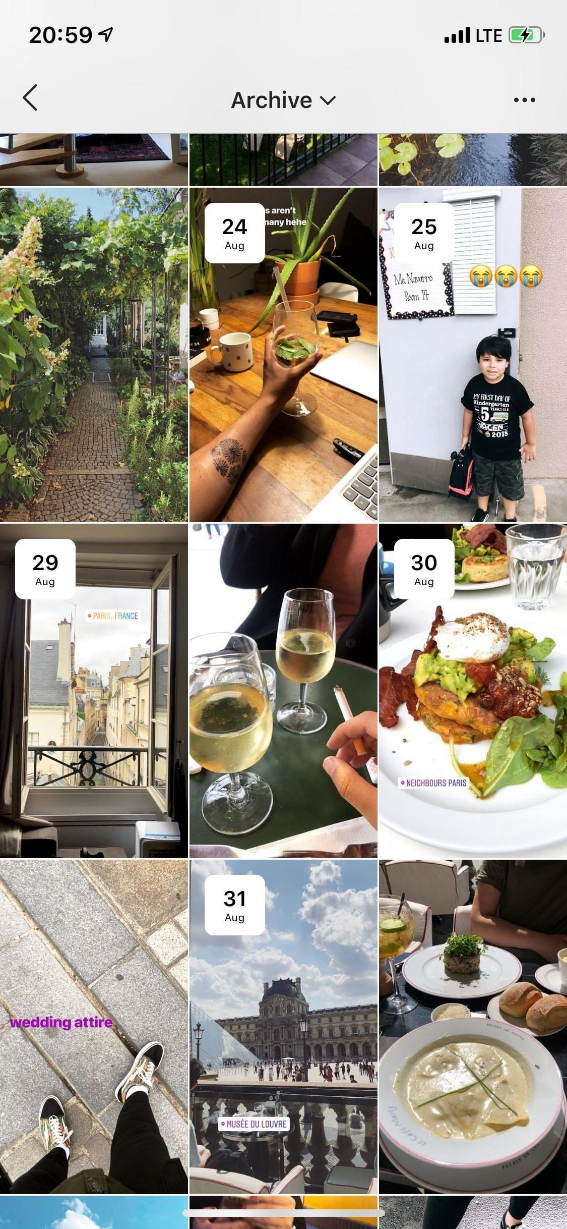 How to view, share, mark and download your archived instagram stories