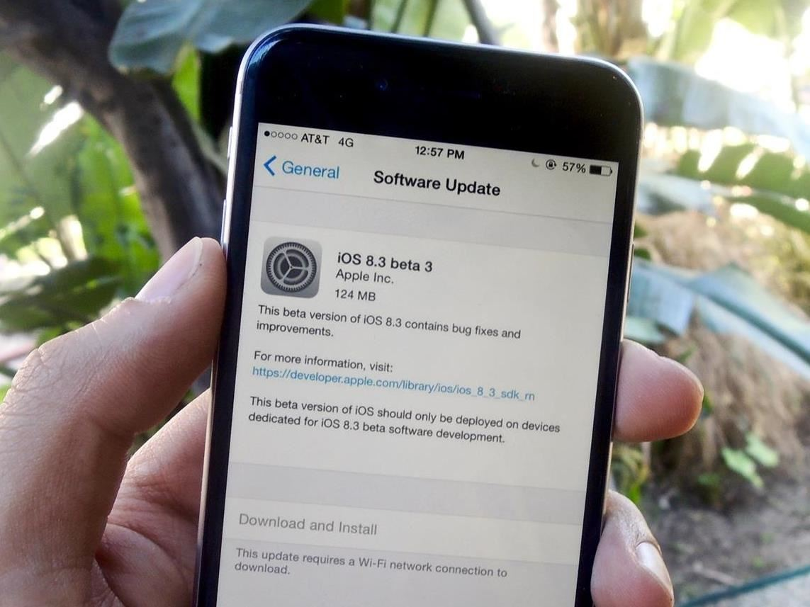 How to Get iOS 8.3 Beta on Your iPhone Right Now