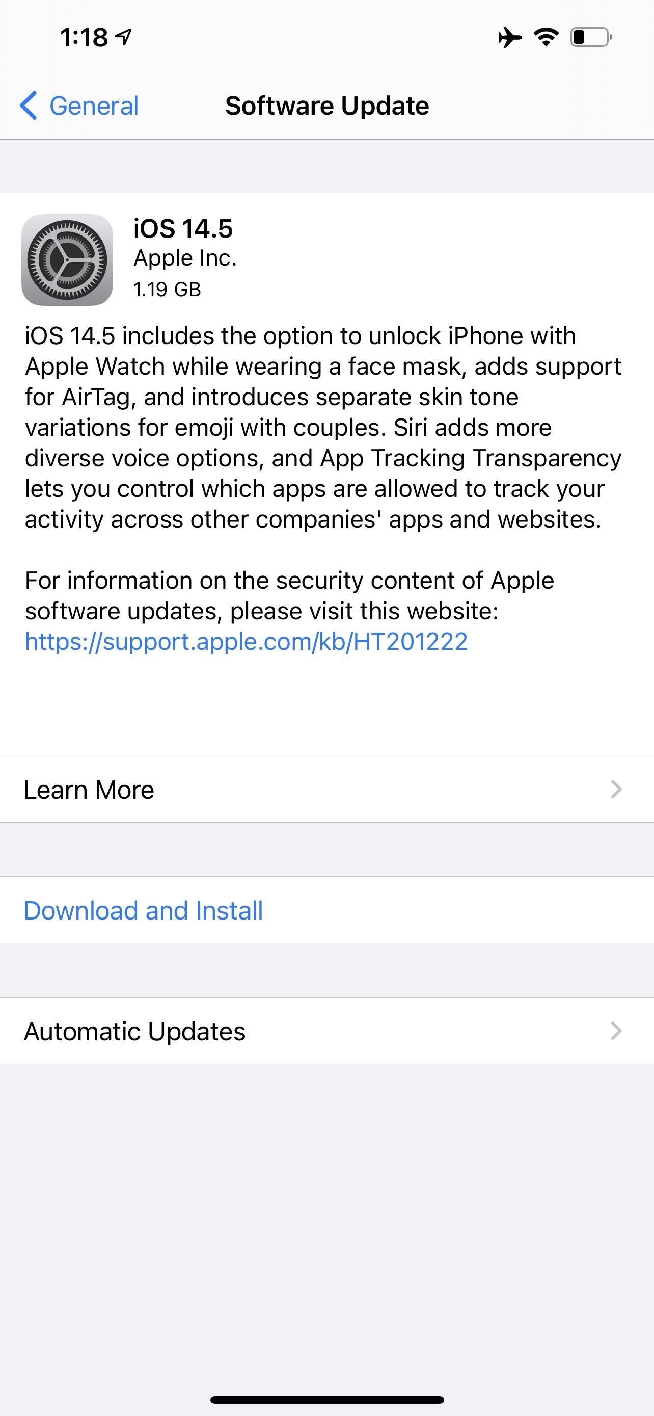 Apple Releases iOS 14.5 for iPhone, Introducing 60+ New Features & Changes