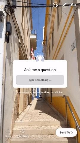 Use Instagram's Q&A Sticker in Stories to Get Viewer Responses on Any Question You Have