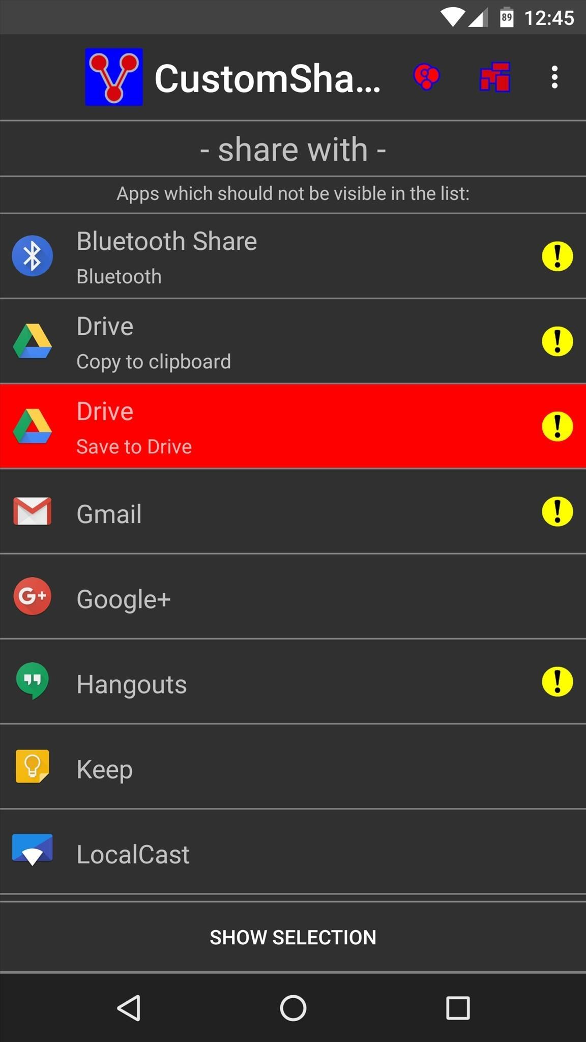 Declutter Your Share Menu on Android Marshmallow