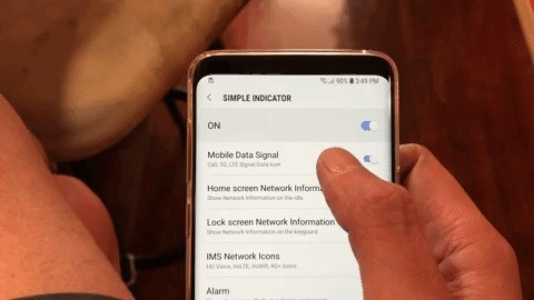 How to Remove Any Status Bar Icon on Your Galaxy S8, S9, or Note 8