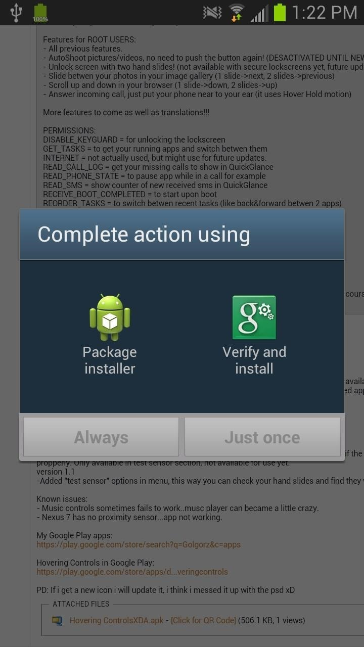 This Easy Mod Lets You Use Air Gestures in Any App on a Samsung Galaxy Note 2 (No Root Required)
