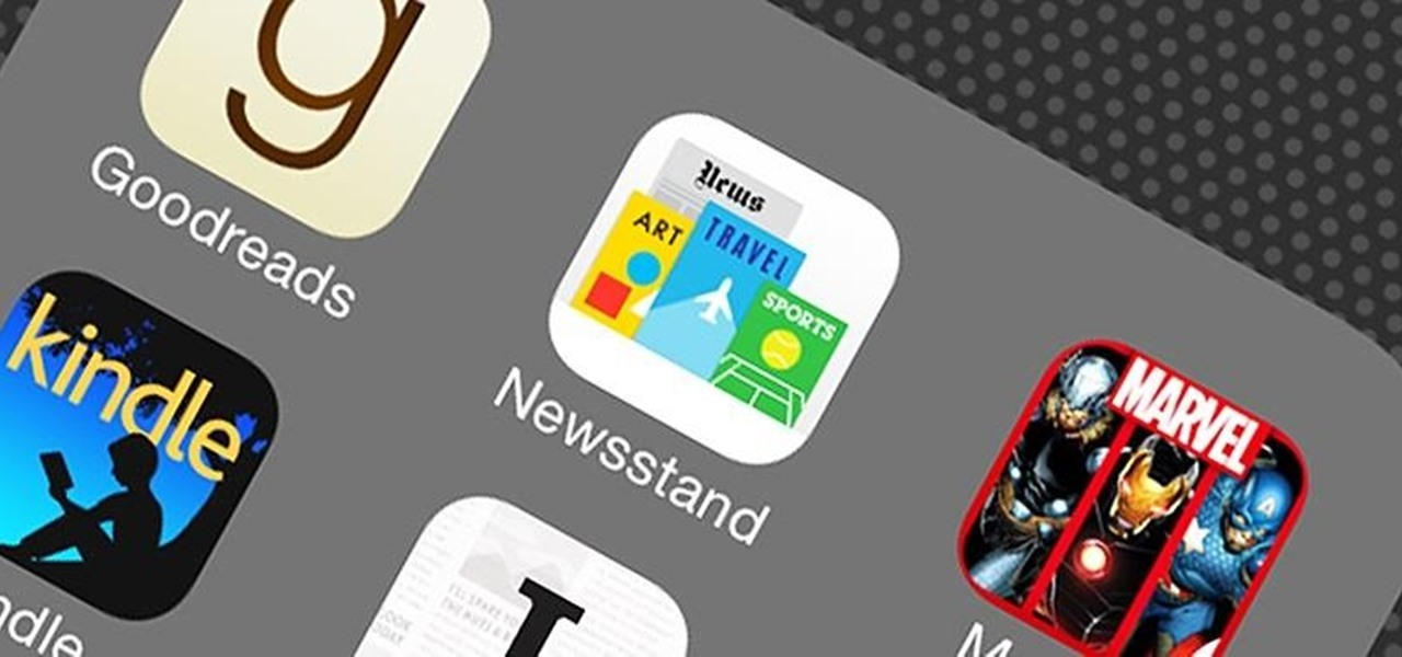 Hide the Newsstand App in iOS 7 on Your iPad, iPhone, or iPod touch