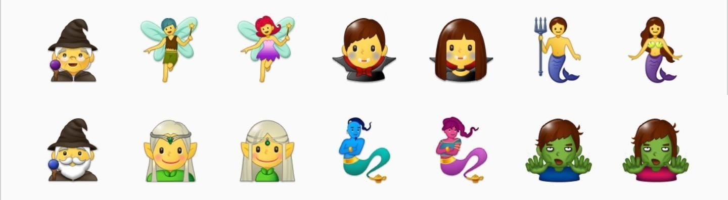 Here Are All the New Emojis in the Galaxy S8 Oreo Update