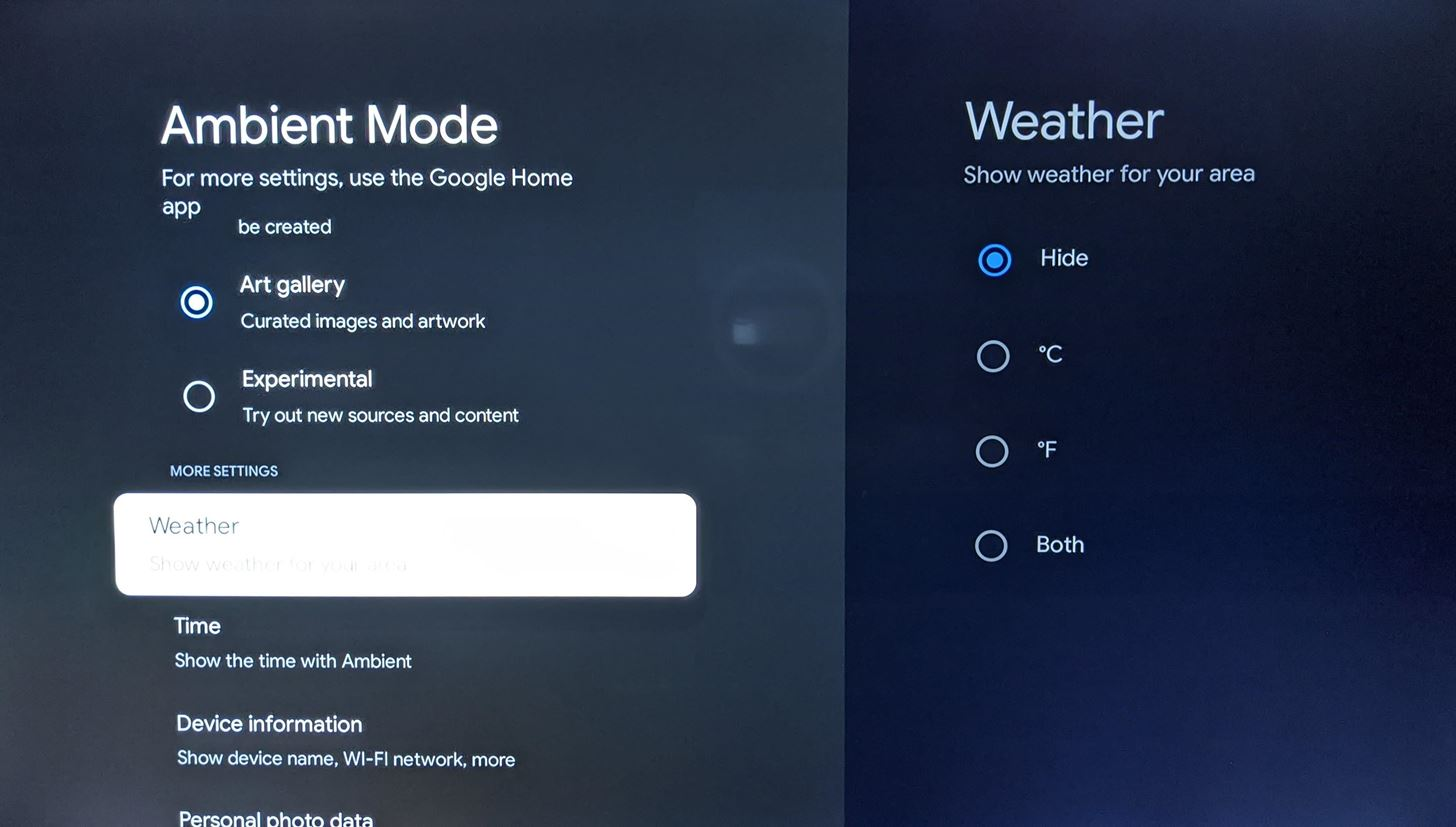 Here's how to add current weather conditions to the new Chromecast's screensaver