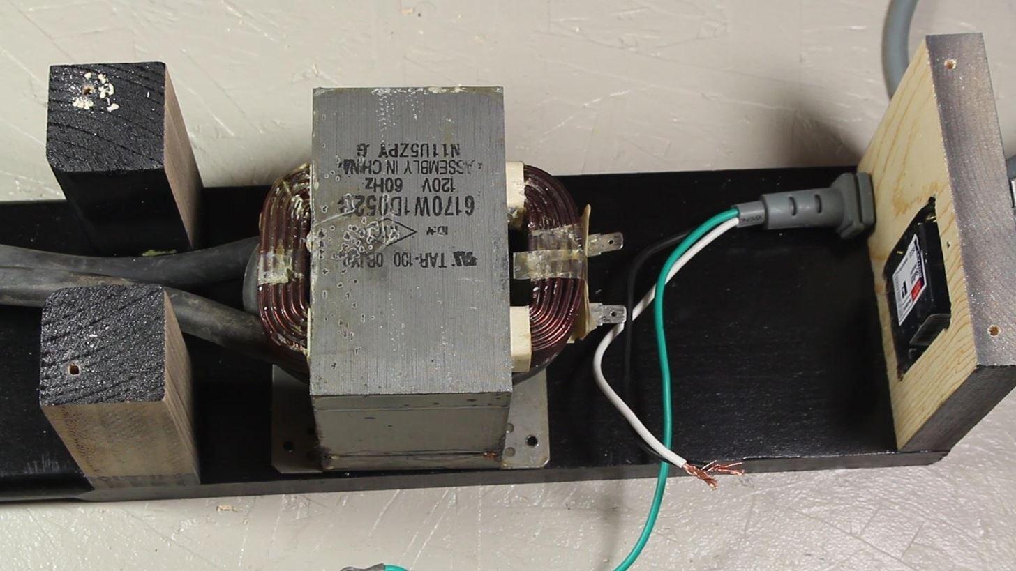 Точечная сварка из трансформатора микроволновки своими руками