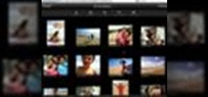 Add photos to your MobileMe Gallery with iPhone