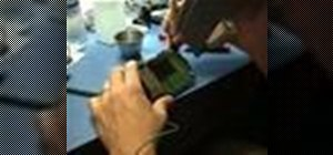 Disassemble electronics w/o damaging tamper seal/parts