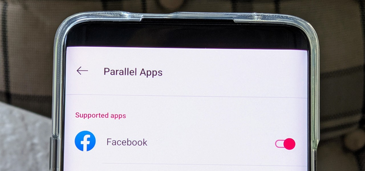 Run 2 Facebook Accounts at Once on Your OnePlus