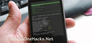 Install Froyo Android 2.2 on a Google Nexus One phone