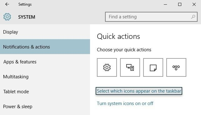 How to Hide System Tray Icons on Windows 10