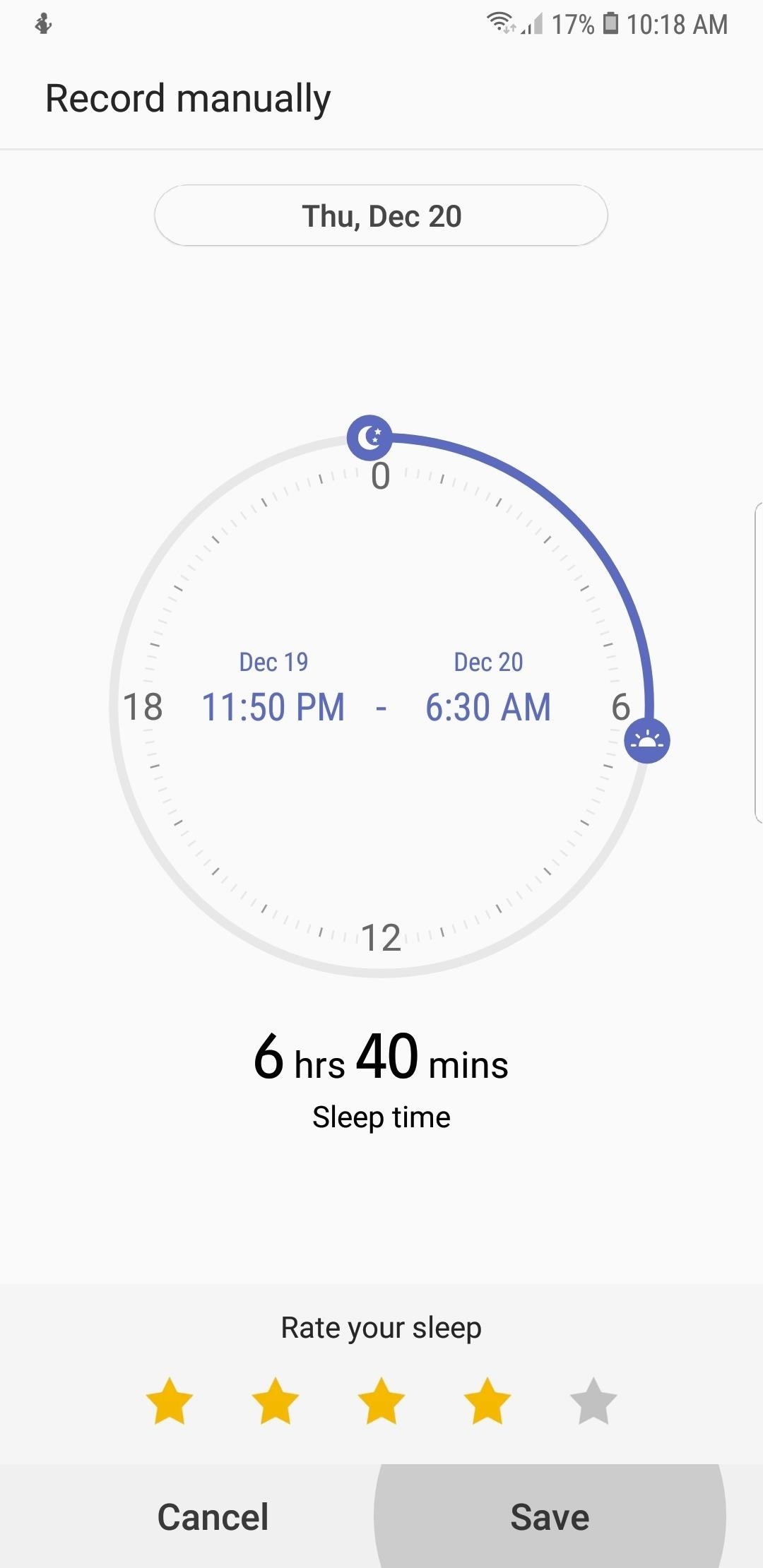 How to Record Your Sleep Patterns with Samsung Health — No Wearables Needed