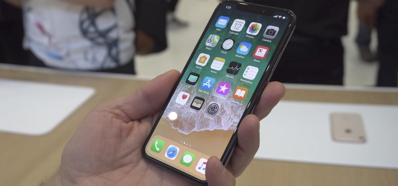 Access the Home Screen on the iPhone X