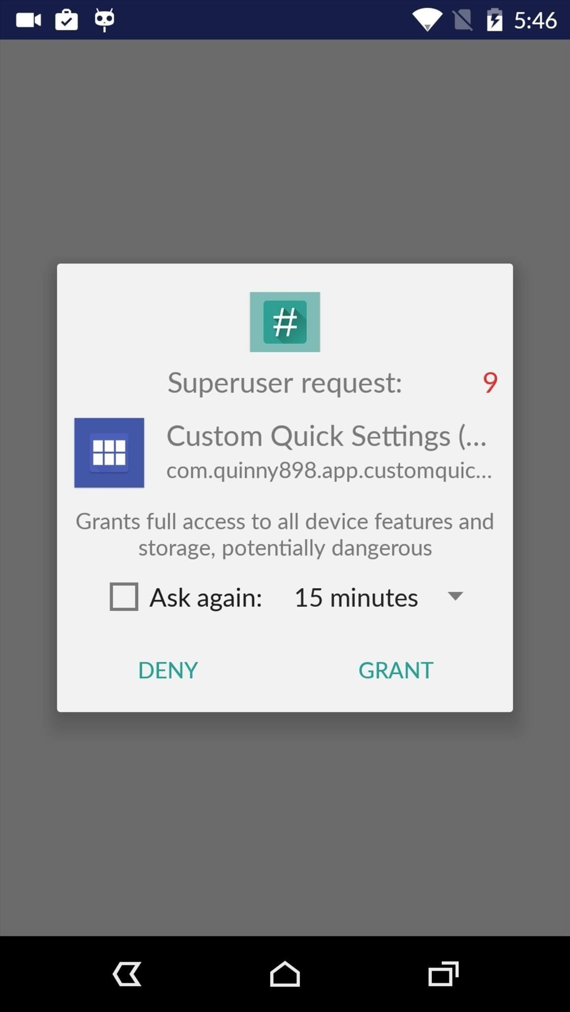 How to Add Custom Shortcuts to Your Quick Settings « Android