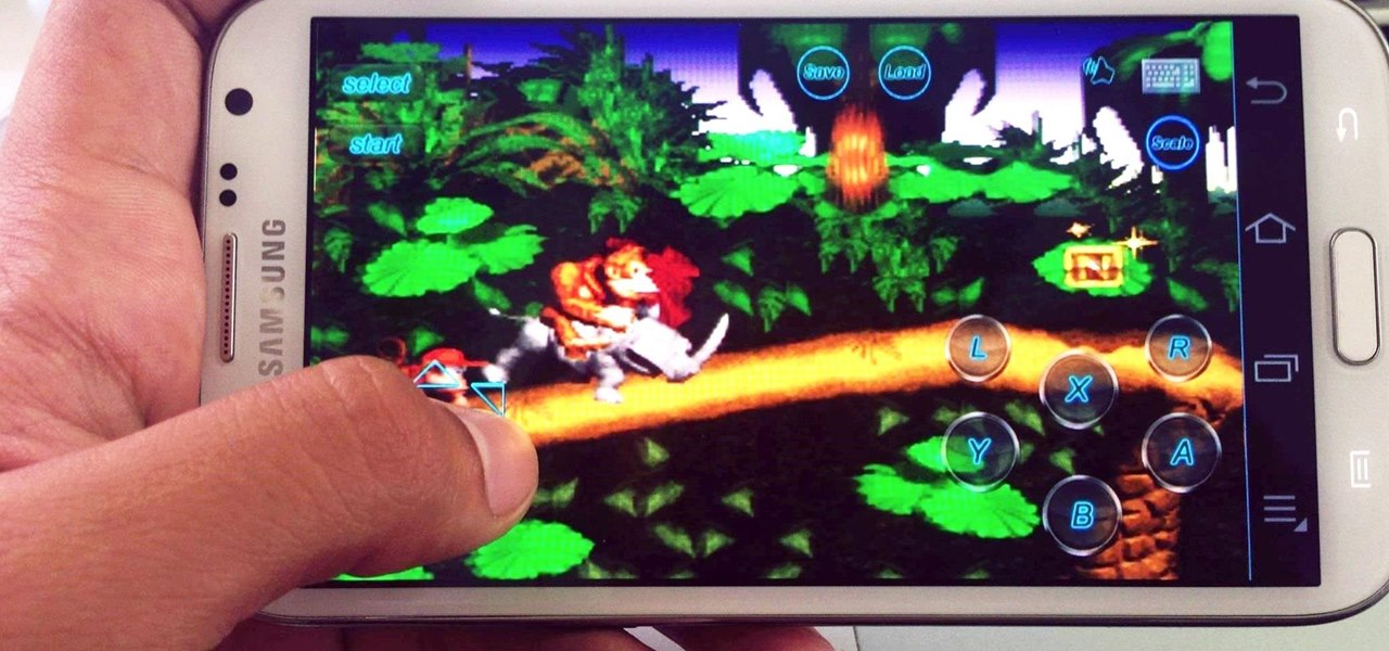 Play Your Favorite Retro Video Games Right on Your Samsung Galaxy Note 2