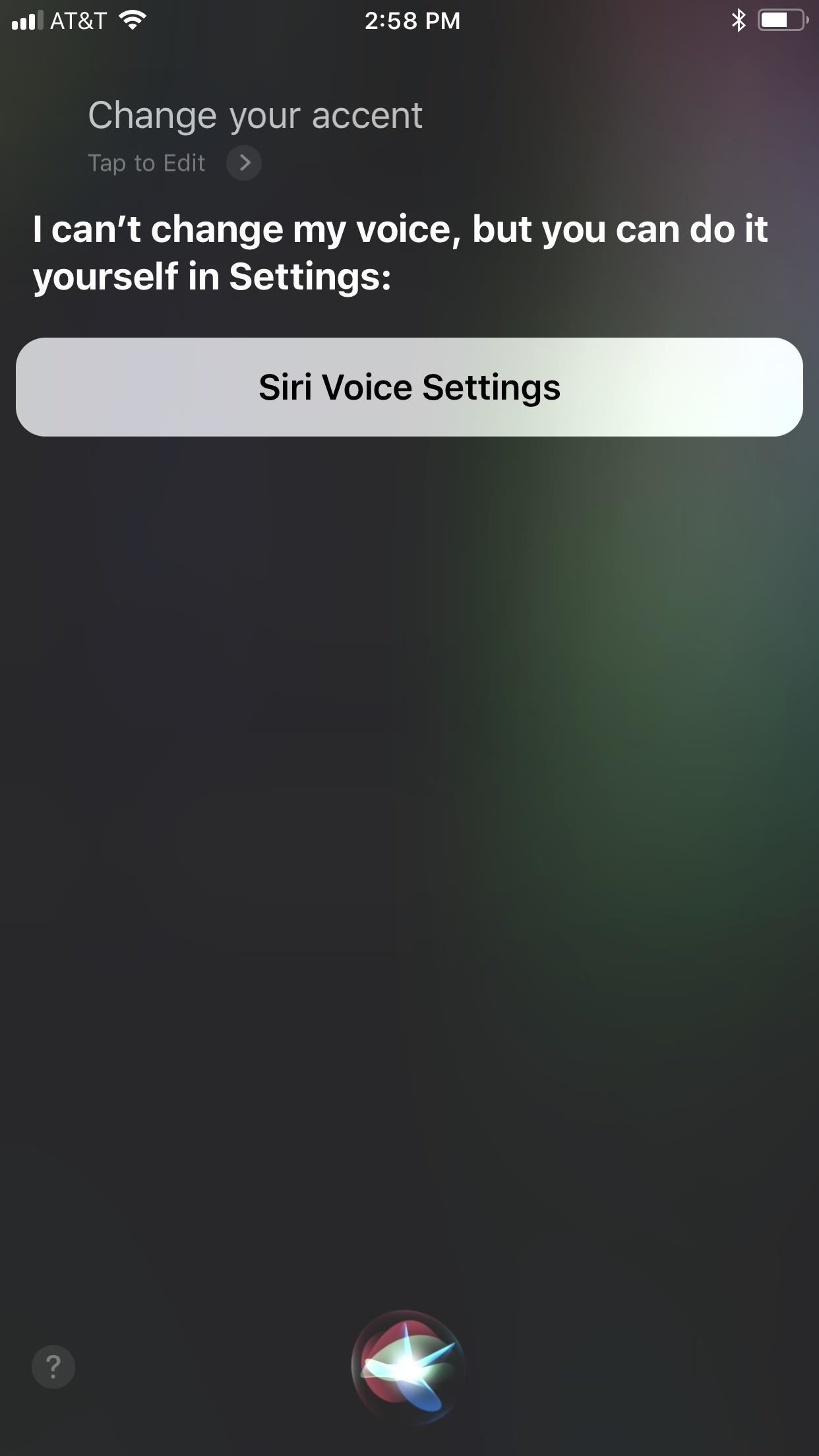 How to Change Siri's Accent on Your iPhone for Australians, British, Irish, or South Africans