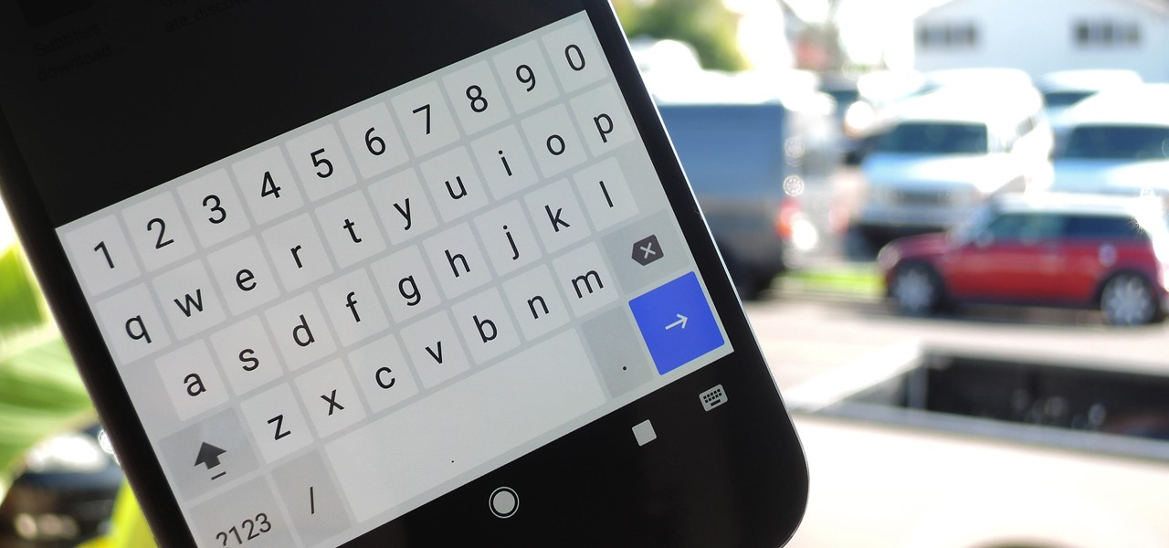 Add a Number Row to Google's Gboard Keyboard
