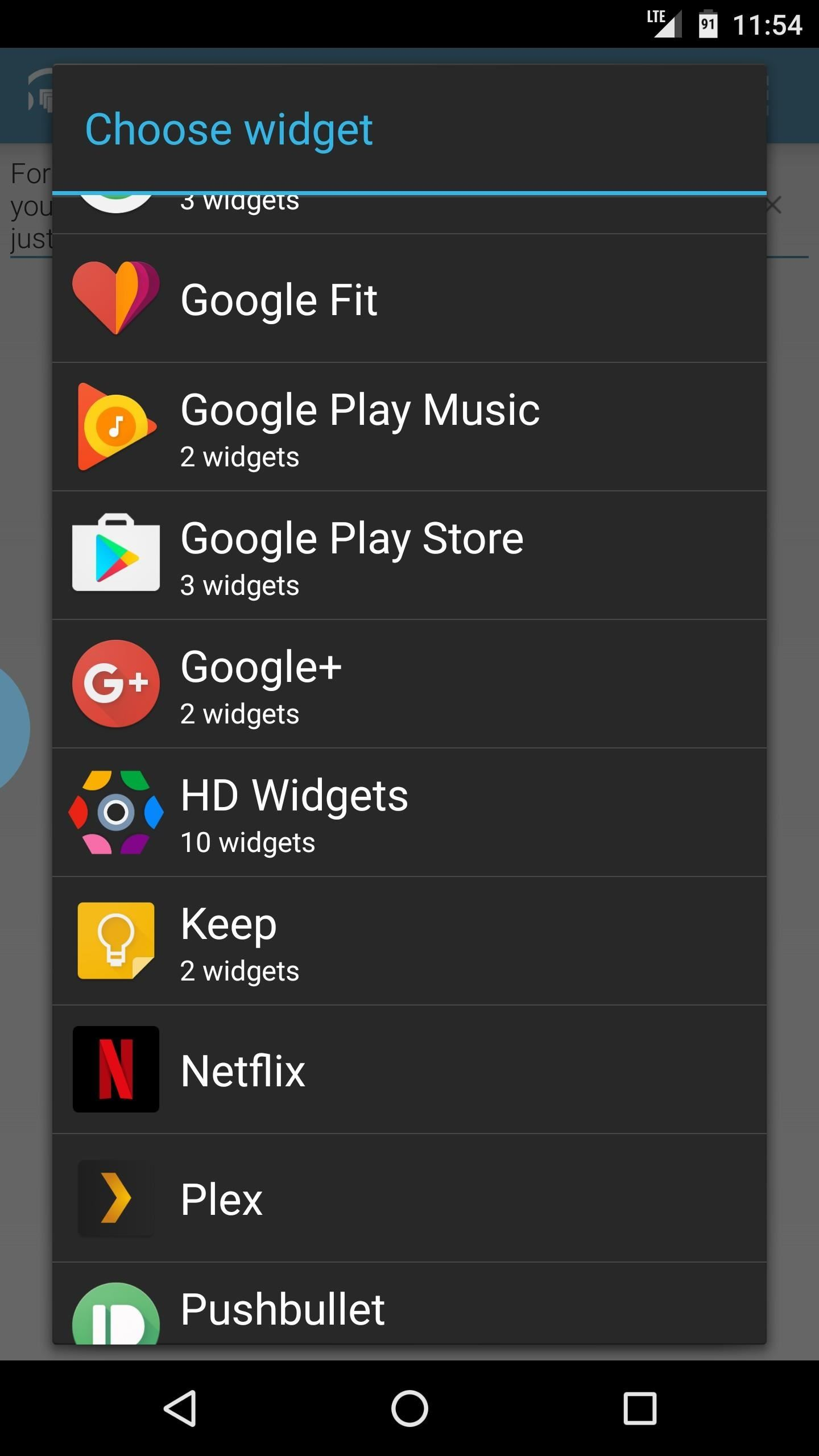 Add a Special Swipe to Access Your Favorite Android Widgets