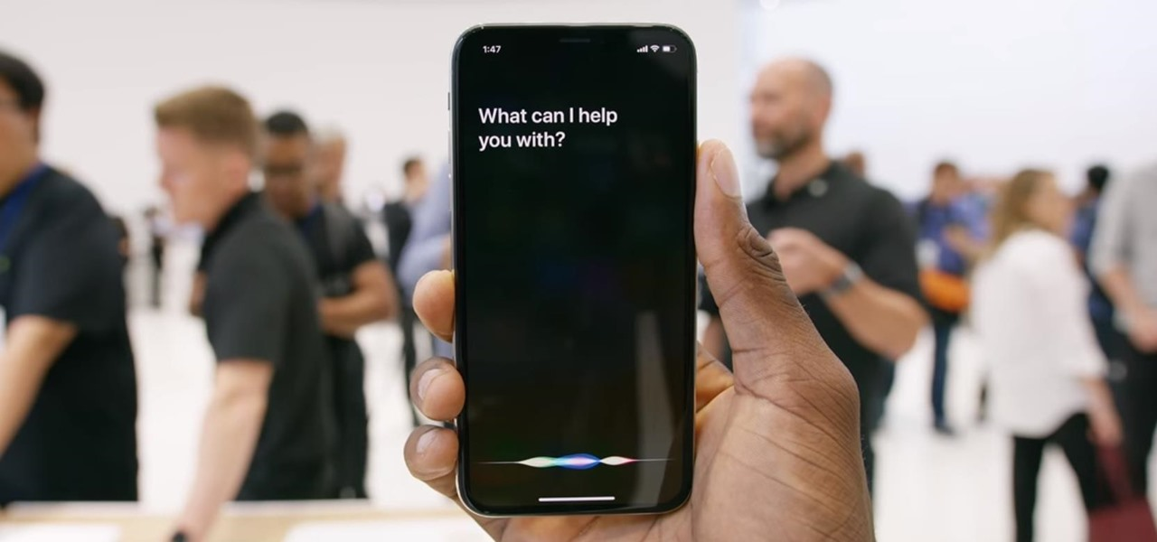 Activate Siri on the iPhone X Without a Home Button