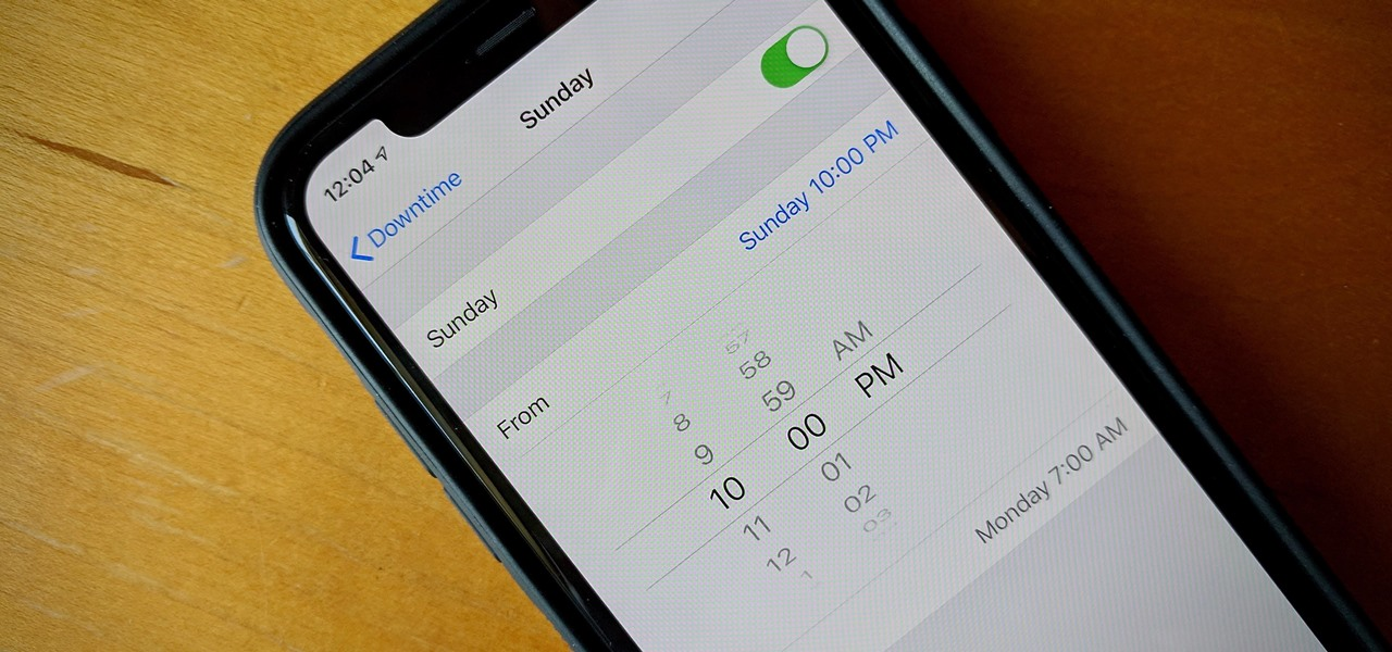 Set Different Downtime Schedules on Your iPhone for Each Day of the Week