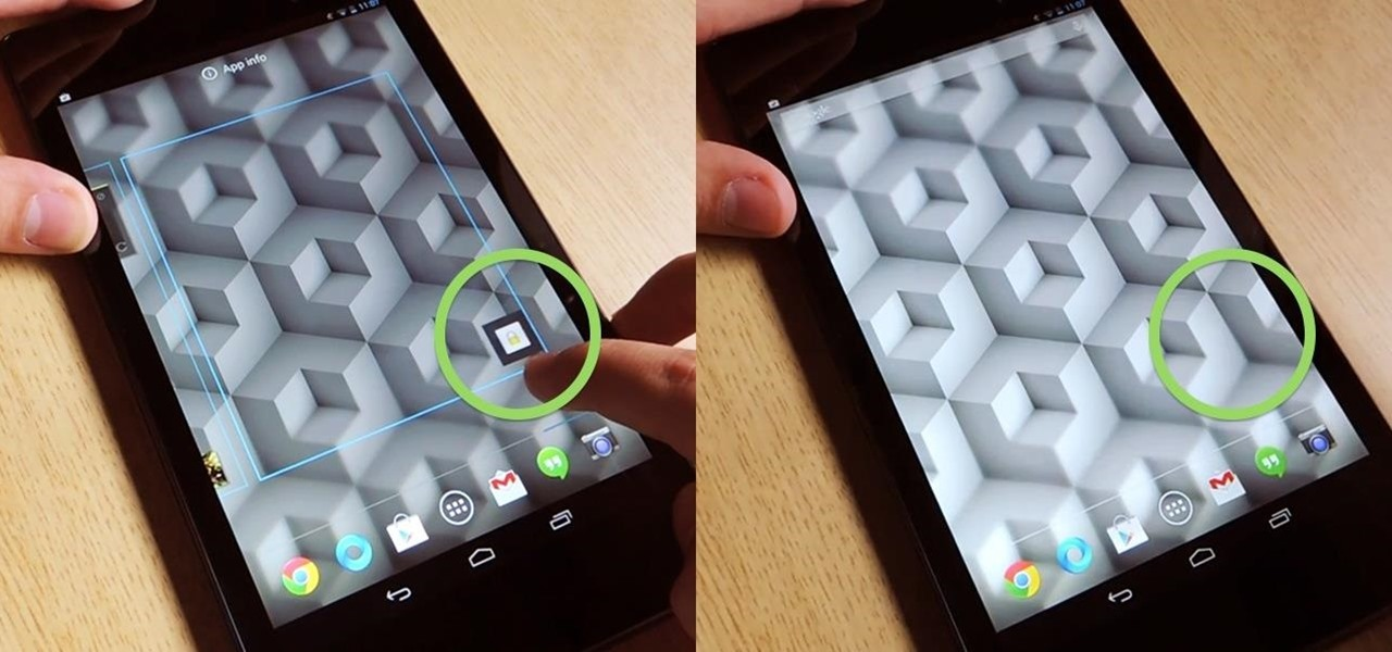 Lock Your Nexus 7 Directly from the Home Screen with an Invisible Locking Shortcut