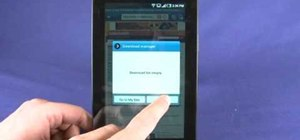 Use the web browser on a Samsung Galaxy Tab Google Android tablet