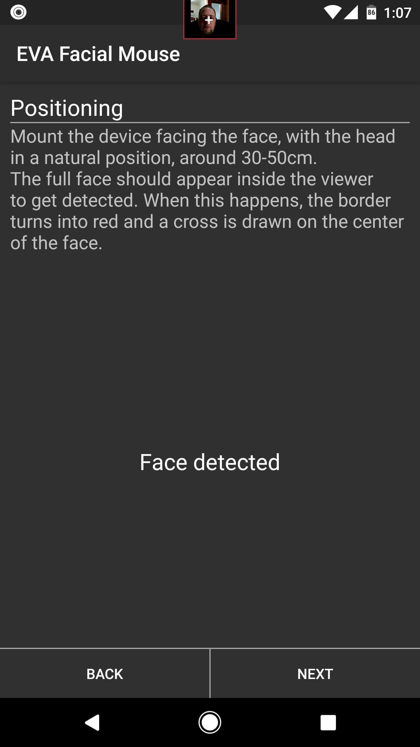 Completely Control Your Android Device with Just Your Head