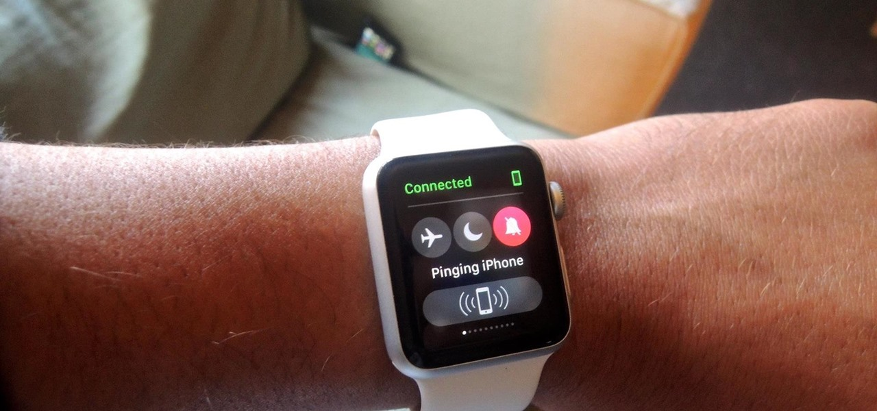 Find Your Misplaced iPhone Using Your Apple Watch