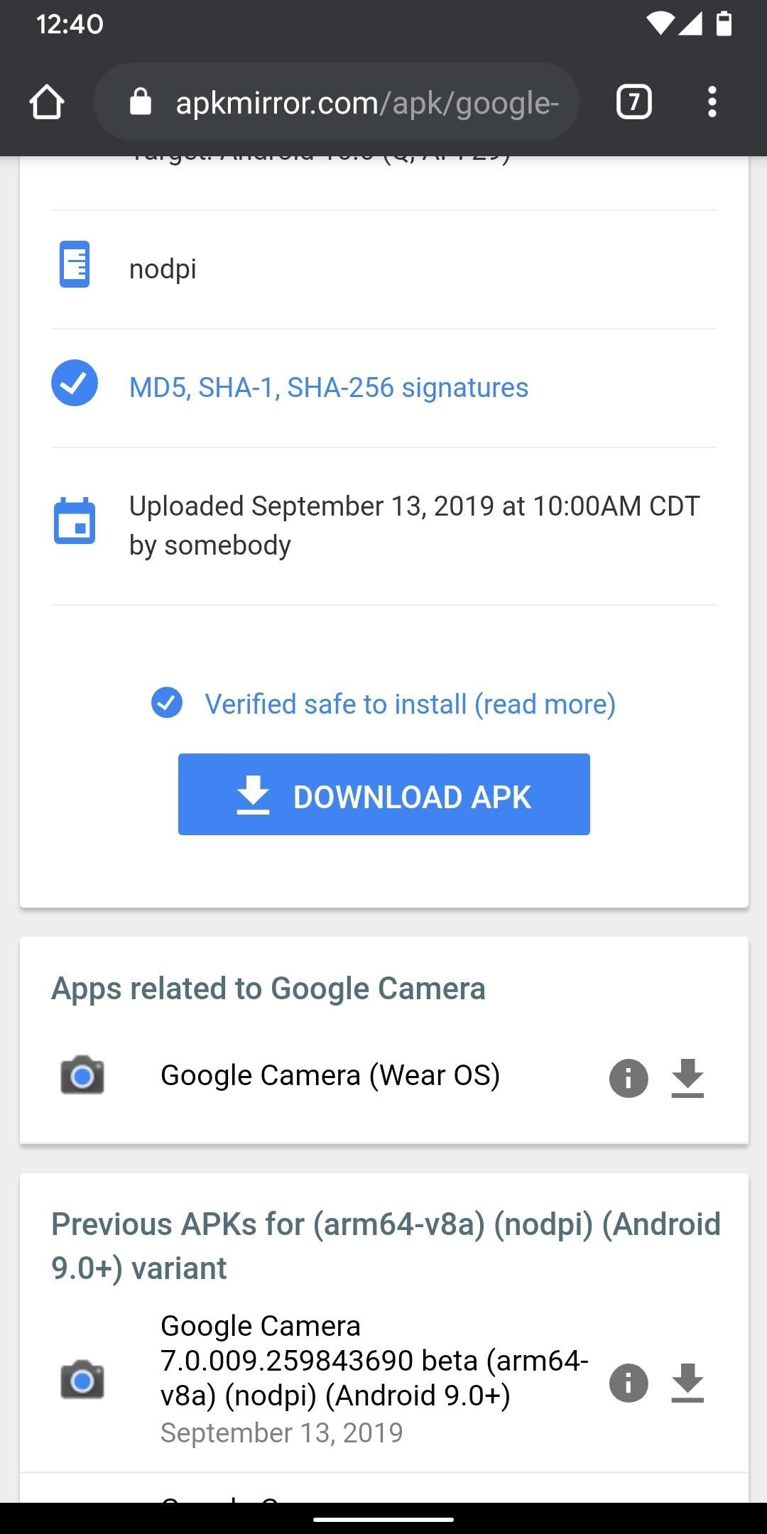 How to Get the Pixel 4's Leaked Camera App on Older Pixels