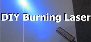 Build a burning blue/violet laser